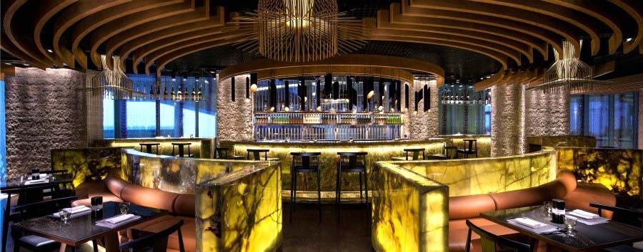 Abu Dhabi, la perla del Golfo - Abu Dhabi Jumeirah at Etihad Towers - Tori No Su Restaurant
