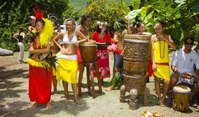 Marquesan Dancers - Marquesas Islands