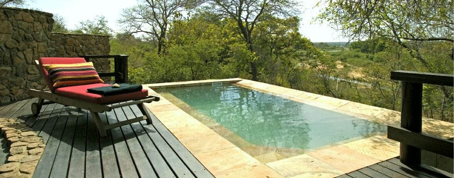 South Africa Luxury Fly-in Safari - South Africa Singita Ebony Lodge, Suite Deck with Pool