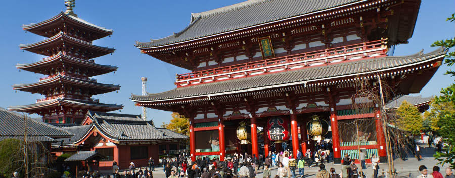 Giappone Classico - Japan Tokyo - Asakusa temple