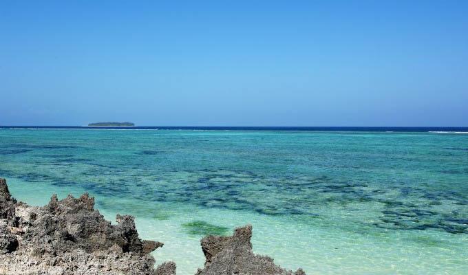 Matemwe Retreat, View from the beach - Zanzibar
