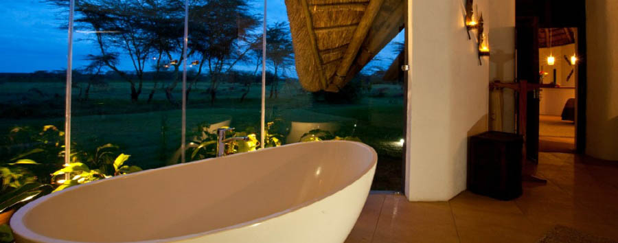 Solio Lodge - Your shower