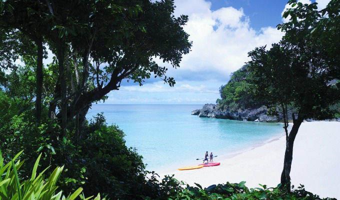 Kayaking in Boracay - Philippines