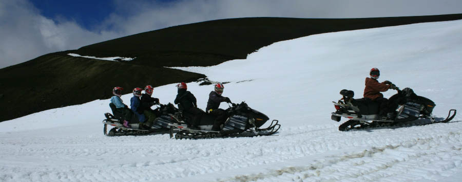 Huilo Huilo: la foresta delle fate - Chile Huilo Huilo, Snowmobiles Winter Excursion