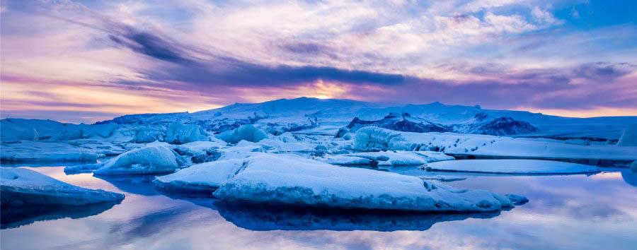 Geyser, ghiacciai e cascate - Iceland Jokulsarlon Glacial Lagoon - Courtesy of Iceland Travel