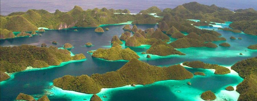 Le meraviglie di Raja Ampat - Indonesia Raja Ampat, Aerial View