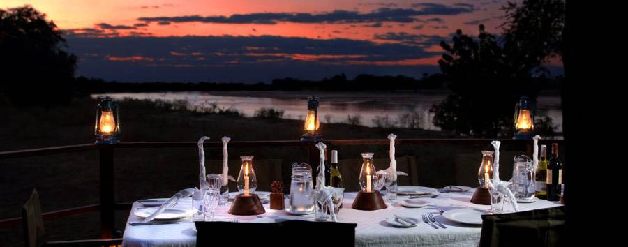Kakuli Bush Camp - Dinner