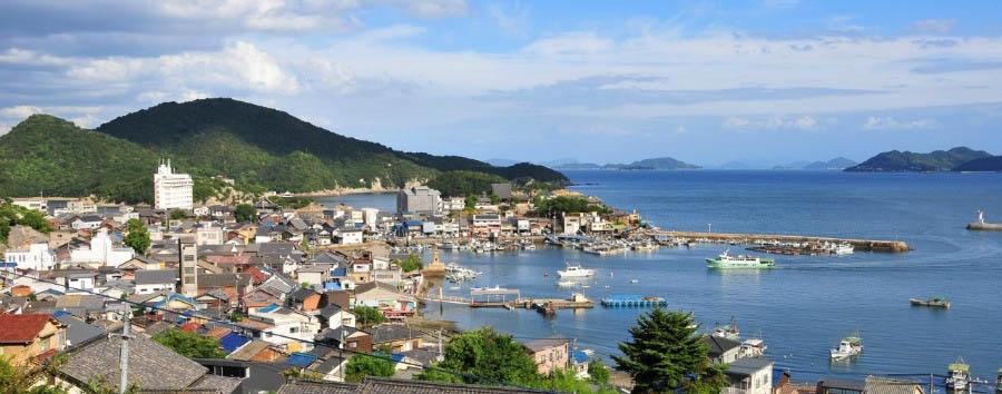 Miyajima e Hiroshima - Japan Tomonoura, City View