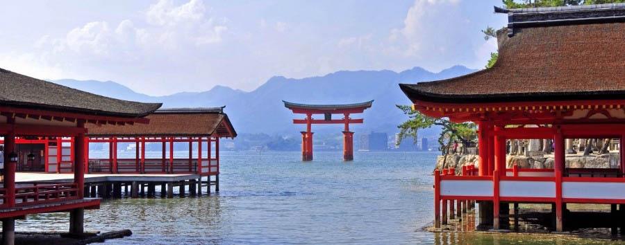 Miyajima e Hiroshima - Japan Miyajima, Ootorii Gate