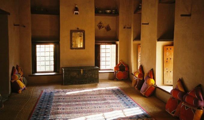 Nizwa Fort Interior - Oman