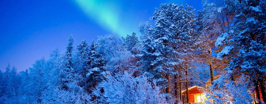 Rovaniemi à la carte - Finland Lapland, Northern Lights © Rafa Pérez/Visit Finland