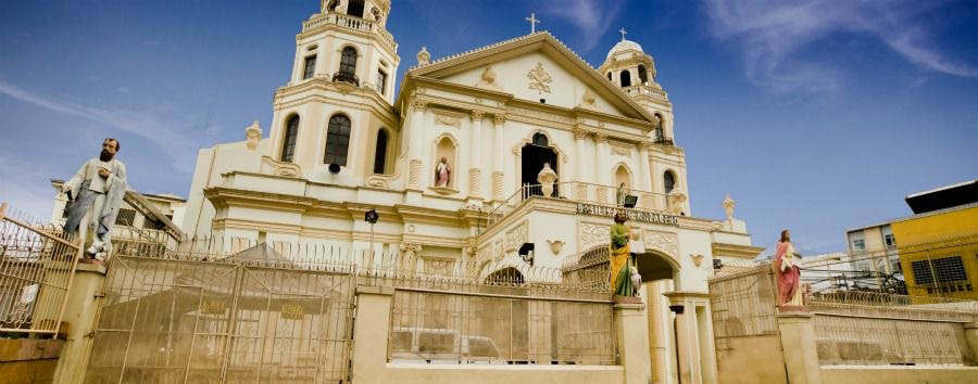 Culture & Lifestyle - Philippines Manila, Quiapo Church