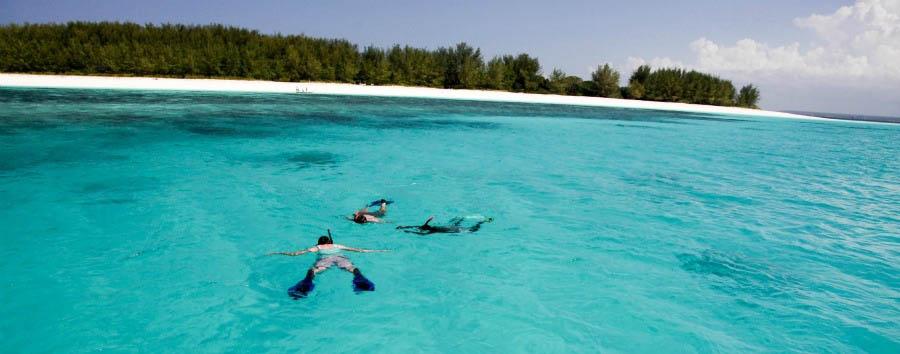 Zanzibar, Matemwe Lodge - Zanzibar Snorkeling