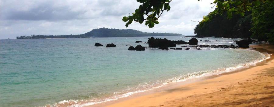 The Turquoise Paradise - São Tomé Praia Jalé