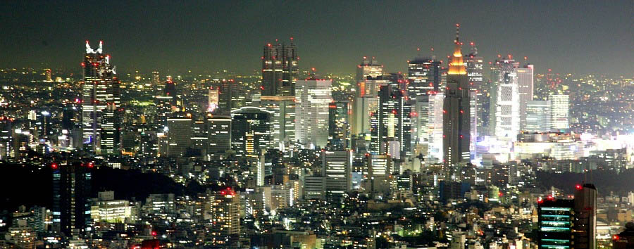 Japan - Tokyo - City view by night