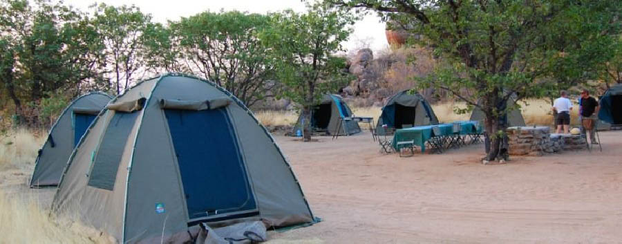 Namibia - Camping near The Namib Desert