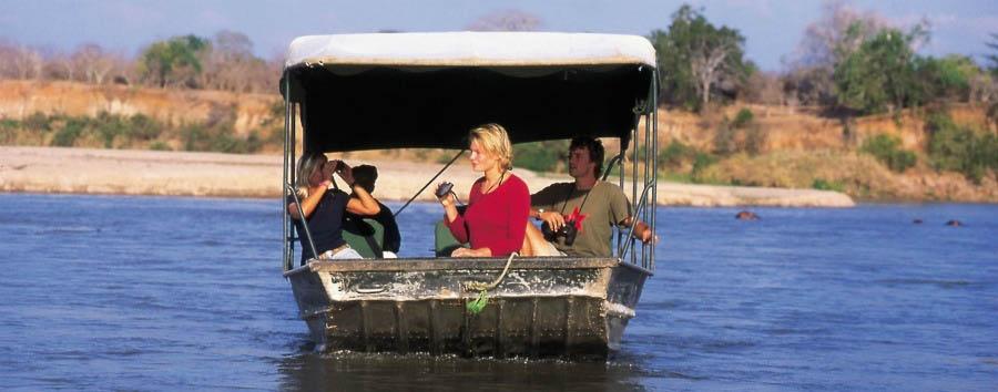Tanzania del Sud, Selous à la carte - Tanzania Rufiji River Boat Safari