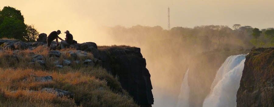 Ilala Lodge - Sunset at Victoria Falls