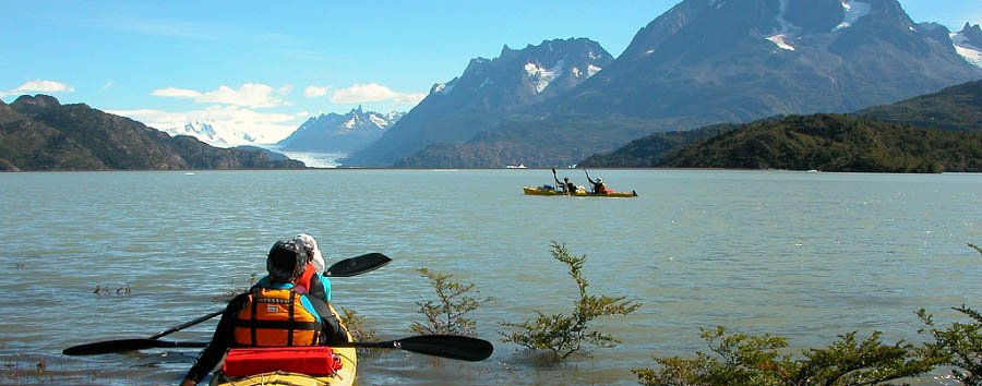 Cile, Las Torres  - Chile Kayaking in the Serrano river