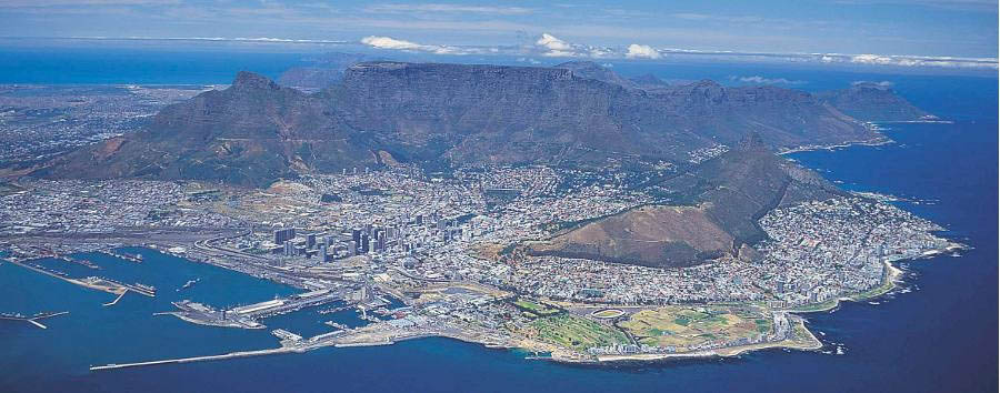 Simply South Africa - South Africa Cape Town, Aerial View