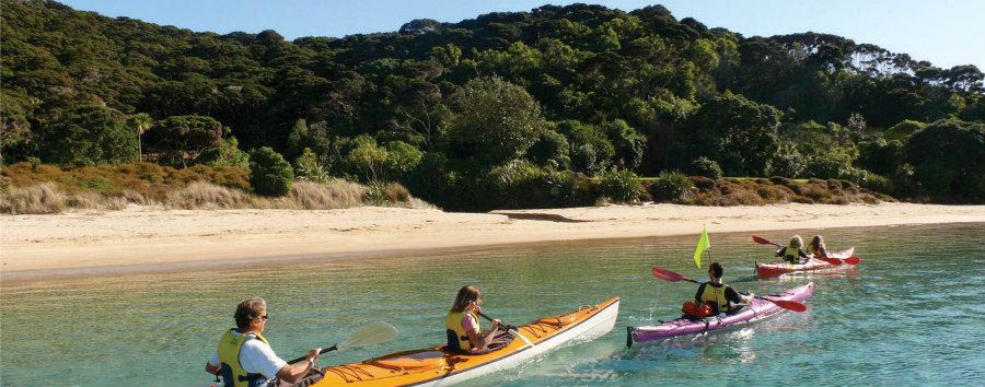 Nuova Zelanda, le stelle del nord - New Zealand Kayaking in Bay of Islands © Adventure HQ/Tourism New Zealand