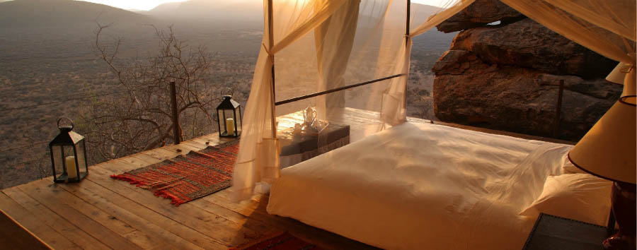 Saruni Samburu - Bed Camp