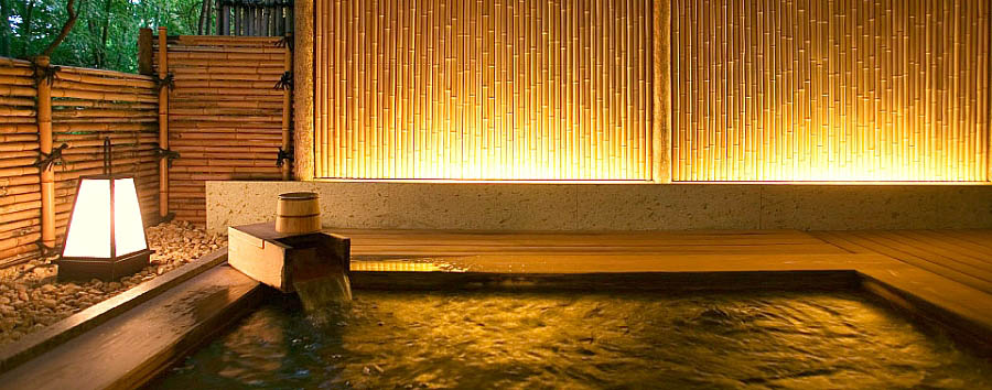 Giappone, Ryokan Experience - Japan Beniya Mukayu, Komorebi-no-yu, Big bath
