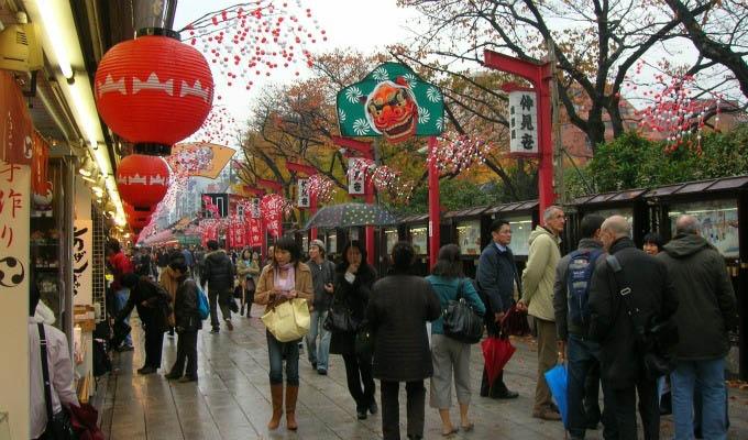 Tokyo, Nakamise Dori - Japan