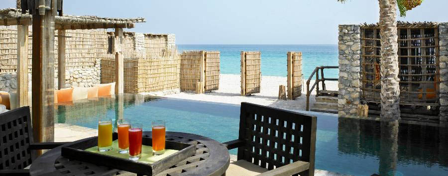 Six Senses Zighy Bay - Beach Front Pool Villa
