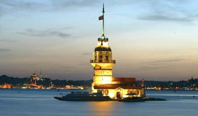 Istanbul, Maiden's Tower - Turkey