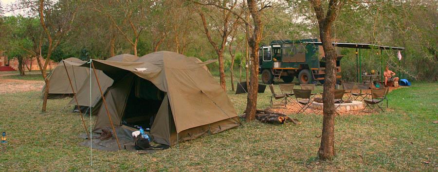Uganda, perla d'Africa - Uganda Murchison Falls, Campsite