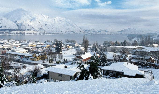 Wanaka © Lake Wanaka Tourism/Tourism New Zealand - New Zealand