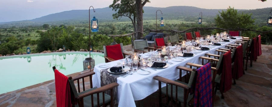 Luxury Tanzania Escape - Tanzania Outside dinner at Beho Beho