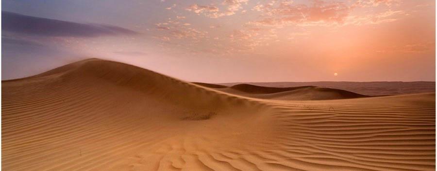 Classic Oman & Masirah - Oman Wahiba Sands at Sunset