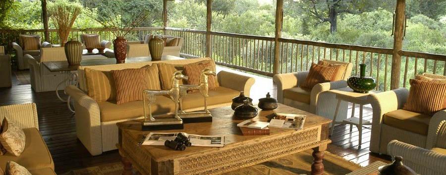 Sudafrica: Sabi Sabi Fly-In - South Africa Sabi Sabi Bush Lodge Deck