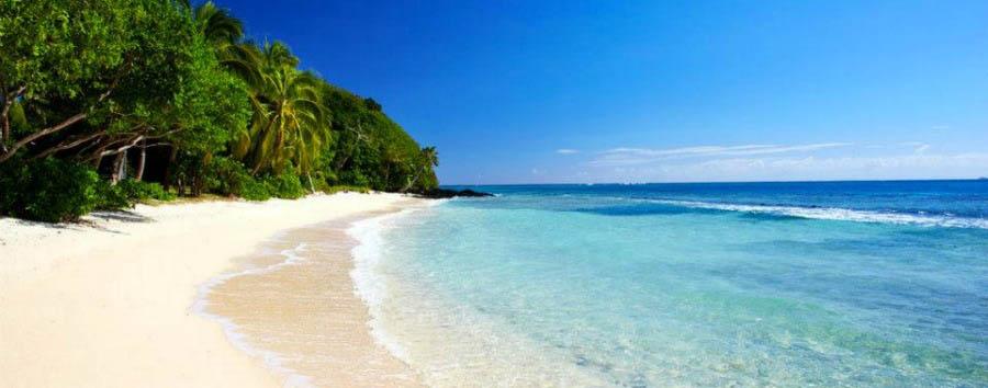 Fiji, mare a Wakaya Island - Fiji Wakaya Island, Pristine Beach