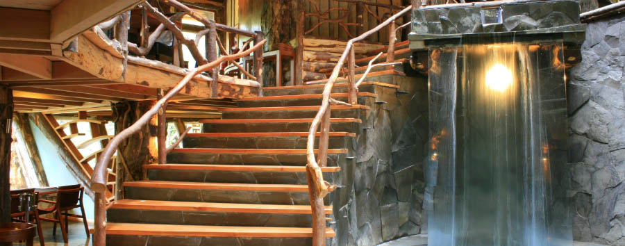 Huilo Huilo: la foresta delle fate - Chile Huilo Huilo, Nothofagus Hotel & Spa Interior