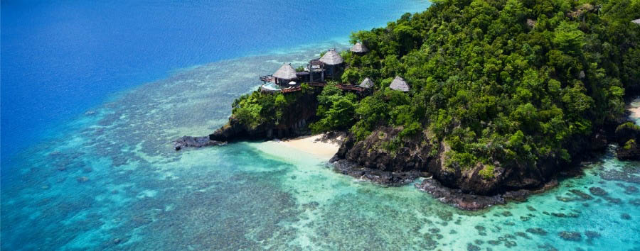 Fiji, mare a Laucala Island - Fiji Laucala Island Resort, Villas Exterior