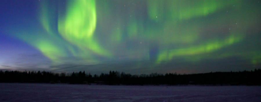 A casa di Babbo Natale - Arctic Amazing Aurora Borealis