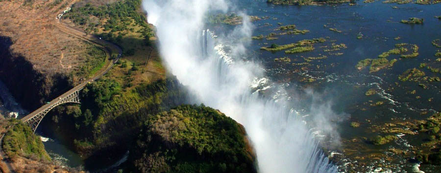 Experience VicFalls - Zambia Victoria Falls Aerial View