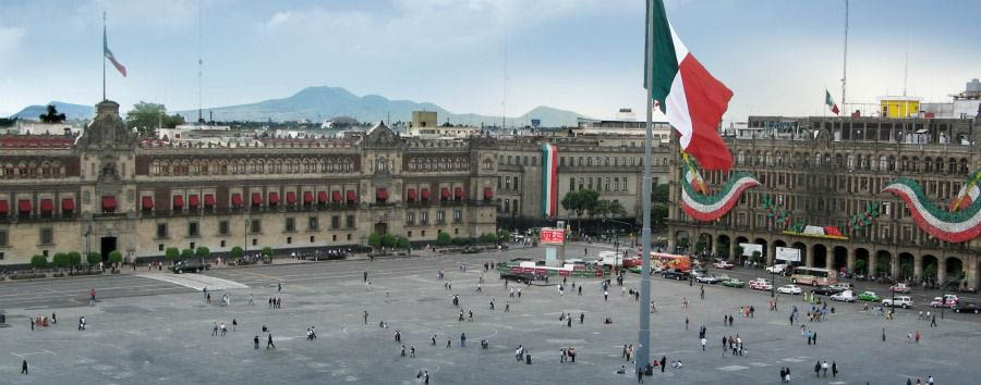 Mexico - Mexico City, Zocalo Square
