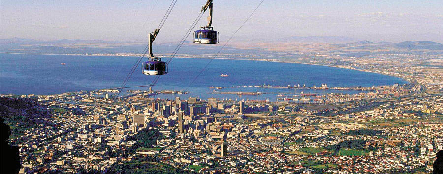 Le gemme del Sudafrica - South Africa Cape Town, Aerial View