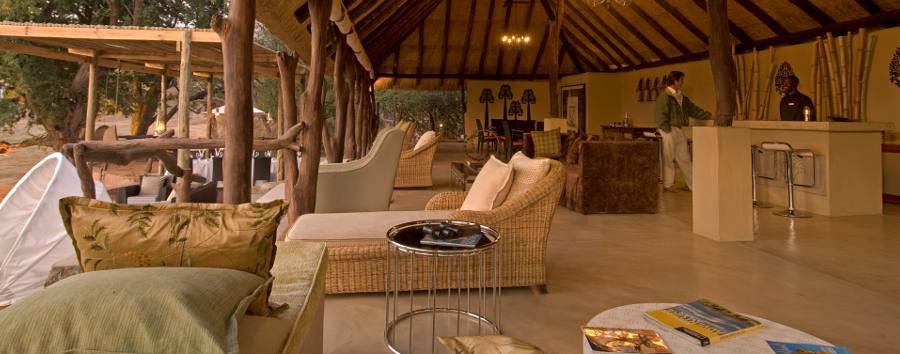 Sanctuary Puku Ridge Camp - Lounge