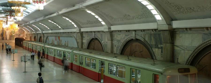 Corea del Nord da scoprire - North Korea The Pyongyang Metro