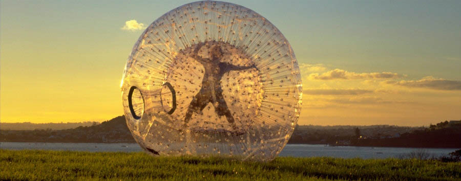 New Zealand - Rotorua, The Exciting Zorb © Zorb Rotorua / Tourism New Zealand