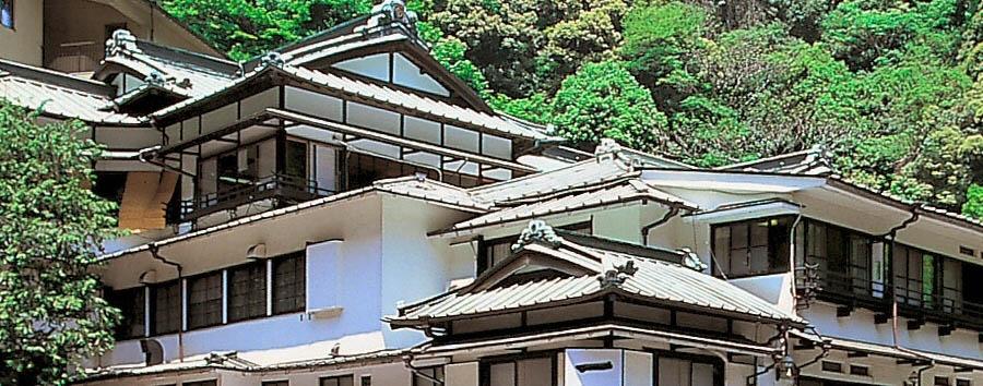 Ichinoyu Honkan - Exterior view