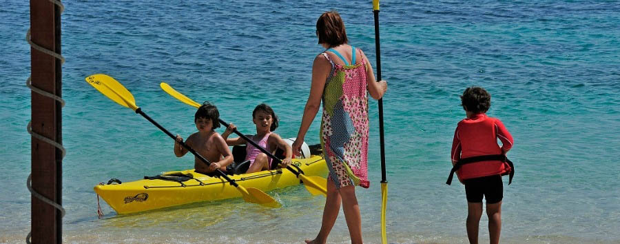 Turtle Beach Resort - Kayak Lessons