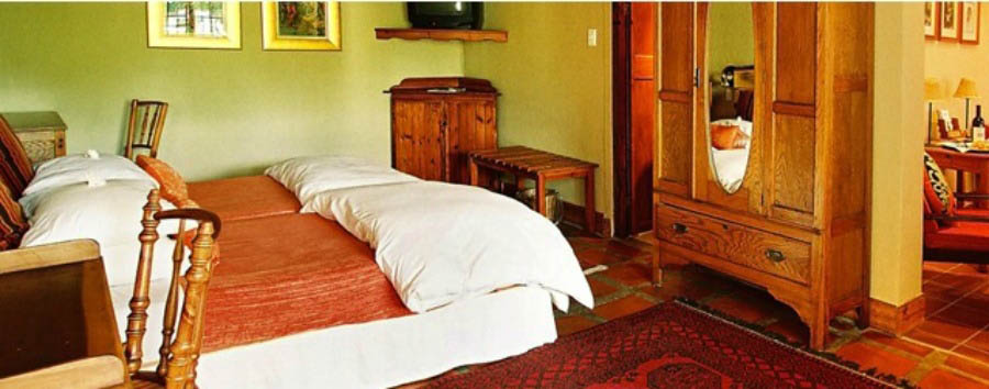 De Opstal Country Lodge - Bedroom
