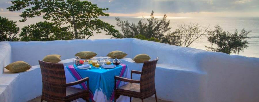 Kenya, Saruni Ocean - Kenya Saruni Ocean, Breakfast Set Up