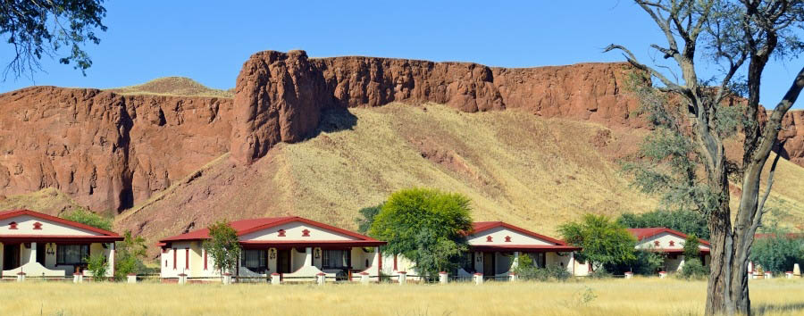 Namib Desert Lodge - Lodge View